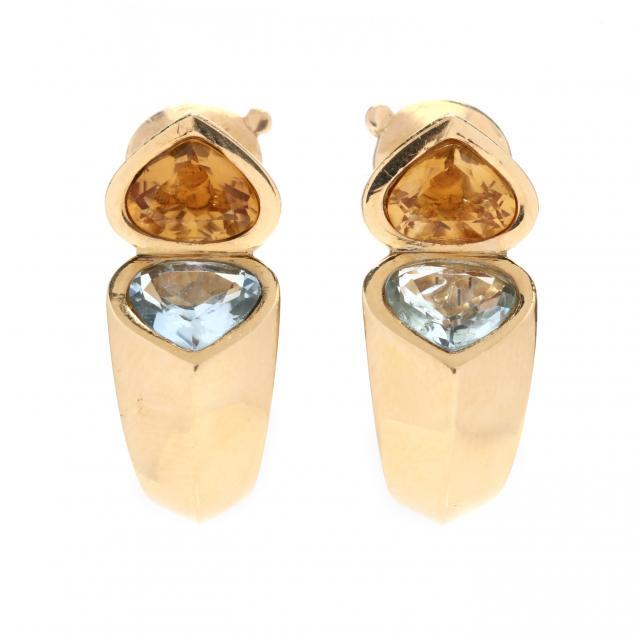 18kt-gold-and-gem-set-earrings-marina-b