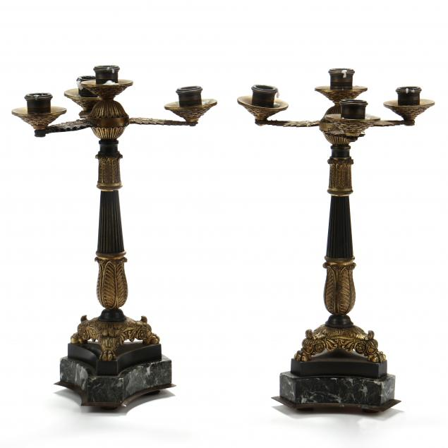 pair-of-antique-continental-parcel-gilt-bronze-and-marble-candelabra