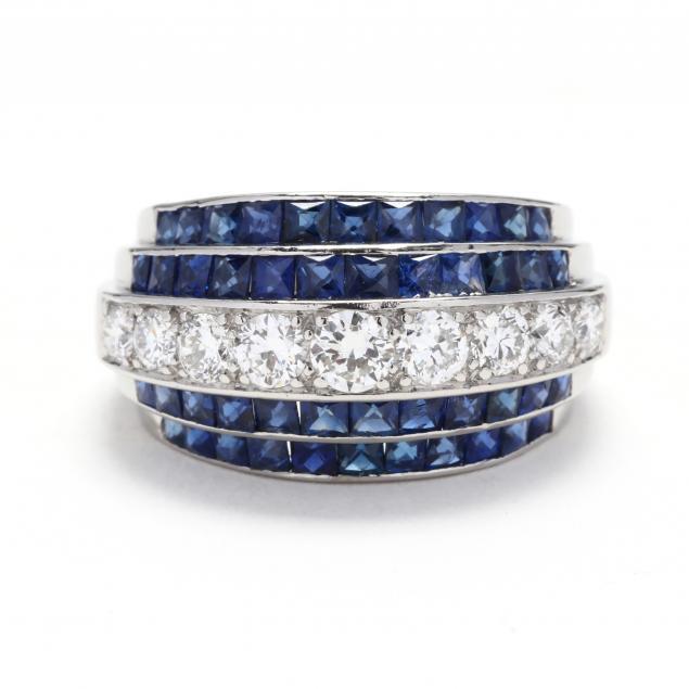 vintage-platinum-diamond-and-sapphire-ring-j-e-caldwell
