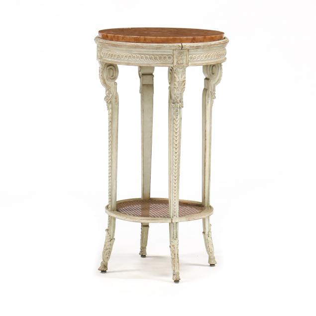 louis-xvi-style-carved-and-painted-marble-top-side-table