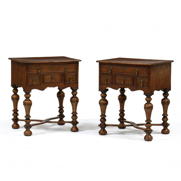 pair-of-william-and-mary-style-burl-wood-lowboys