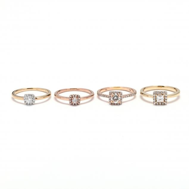 four-gold-and-diamond-stackable-rings