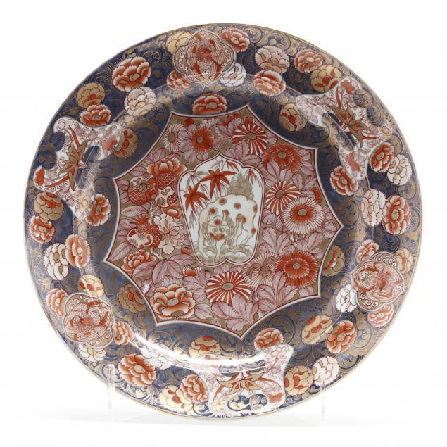 large-antique-painted-porcelain-imari-charger