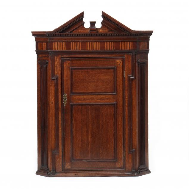 george-iii-inlaid-oak-hanging-corner-cabinet
