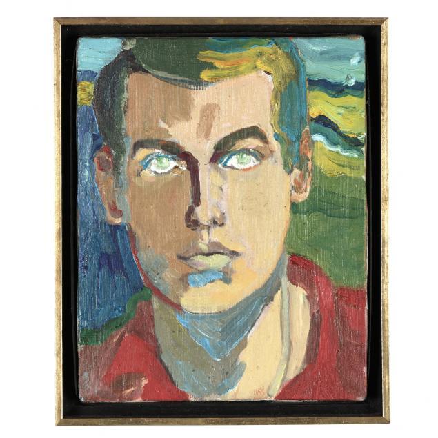 joe-rowand-american-1942-2021-self-portrait