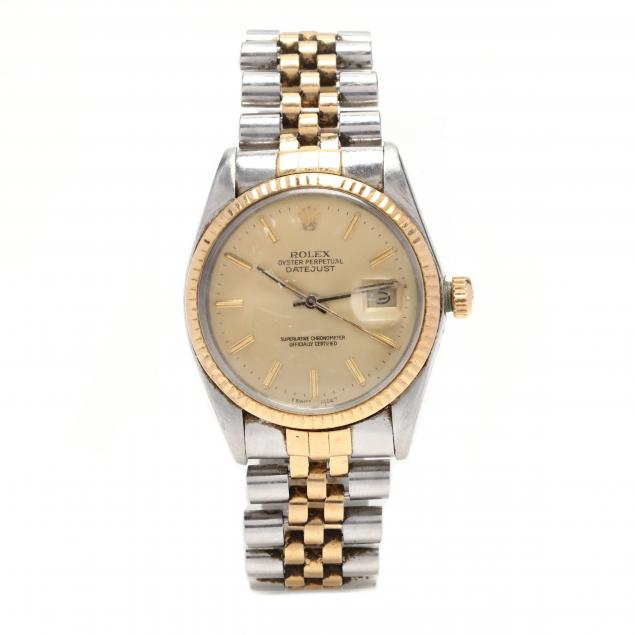 gent-s-stainless-steel-and-18kt-gold-oyster-perpetual-datejust-watch-rolex
