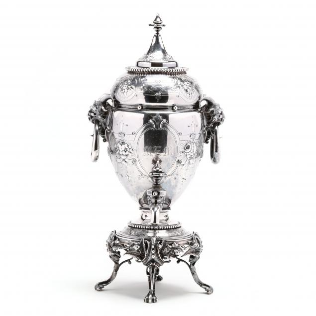 gorham-mary-todd-lincoln-coin-silver-kettle-stand