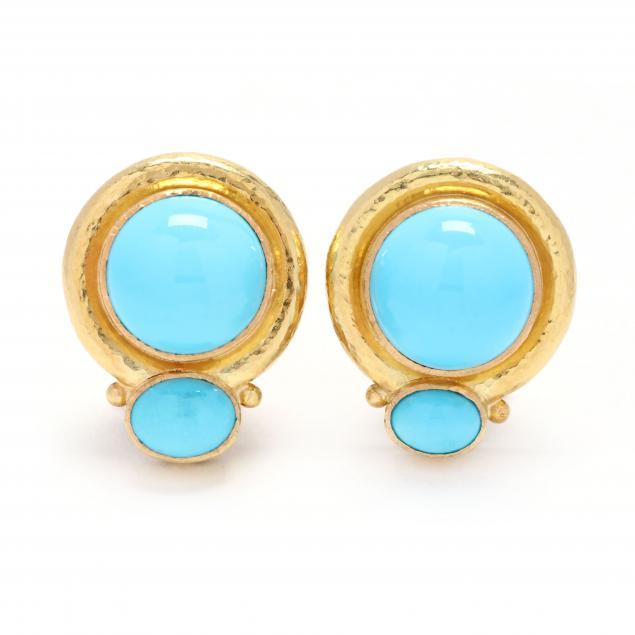 18kt-gold-and-turquoise-earrings-elizabeth-locke