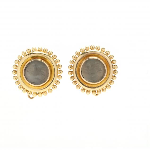 18kt-gold-and-venetian-glass-and-mother-of-pearl-earrings-elizabeth-locke