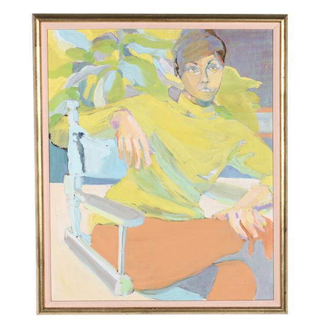 joe-rowand-american-1942-2021-portrait-of-a-woman