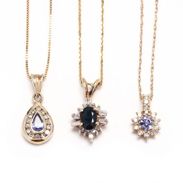 three-gold-and-gem-set-necklaces