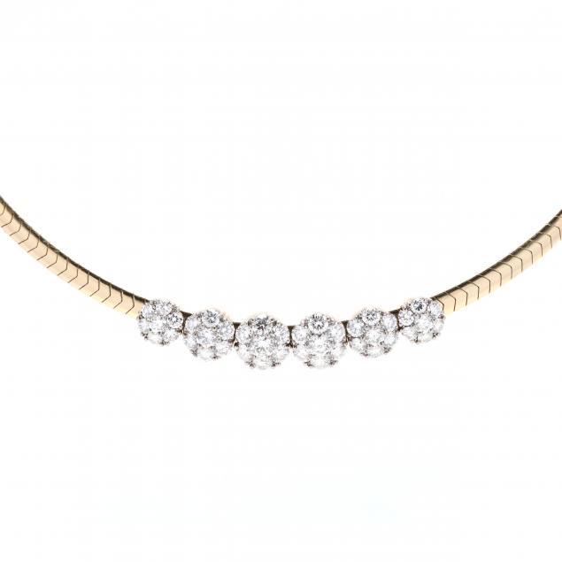 14kt-omega-with-six-18kt-gold-and-diamond-slides-jabel