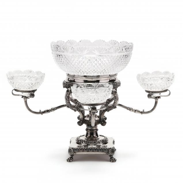 antique-georgian-silverplate-epergne