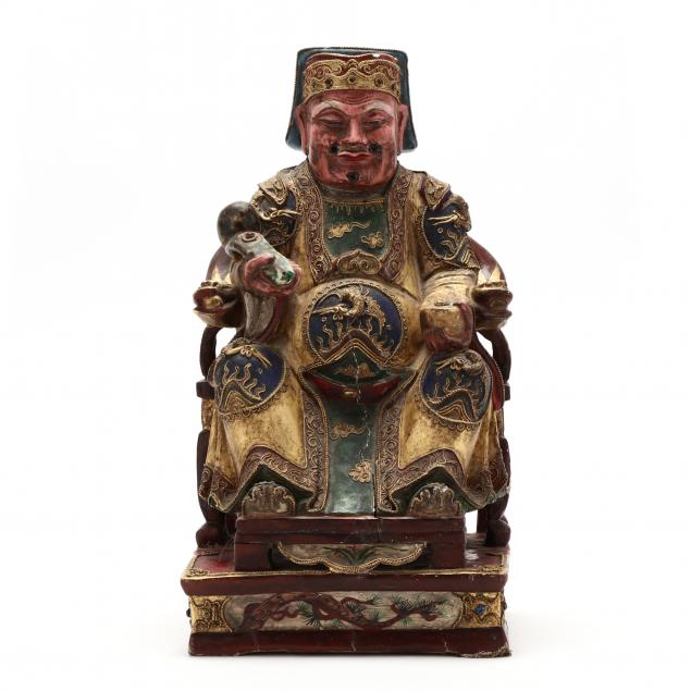 a-chinese-carved-wooden-deity-sculpture