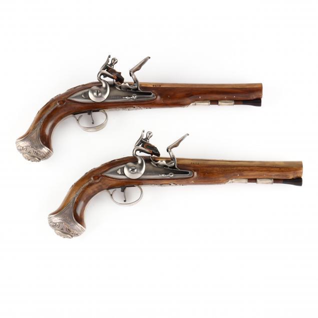 u-s-historical-society-cased-replicas-of-george-washington-s-pistols