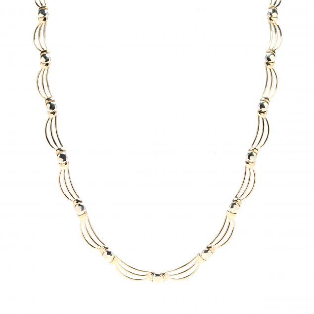 bi-color-gold-necklace