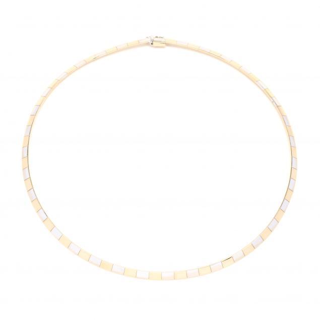 bi-color-gold-omega-necklace