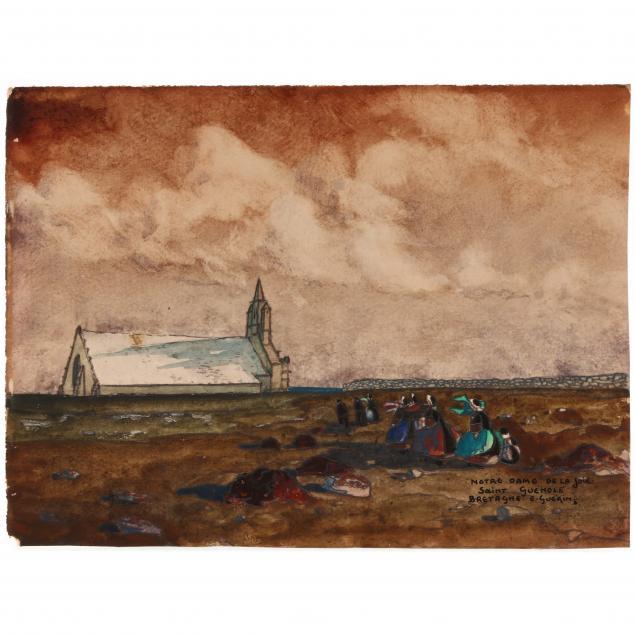 ernest-guerin-french-1887-1952-i-notre-dame-de-la-joie-saint-guenole-bretagne-i