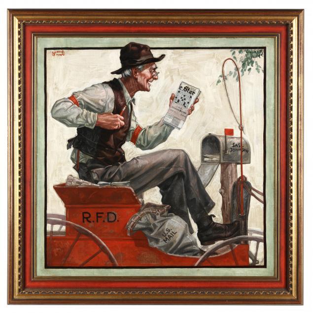 charles-james-ryan-american-1865-1949-i-rural-free-delivery-u-s-mail-i