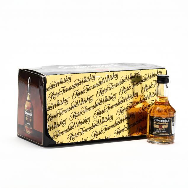 gentleman-jack-jack-daniels-rare-tennessee-whiskey-10-mini-bottles