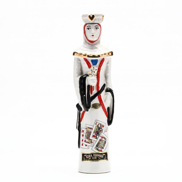 ezra-brooks-whiskey-in-queen-of-hearts-decanter