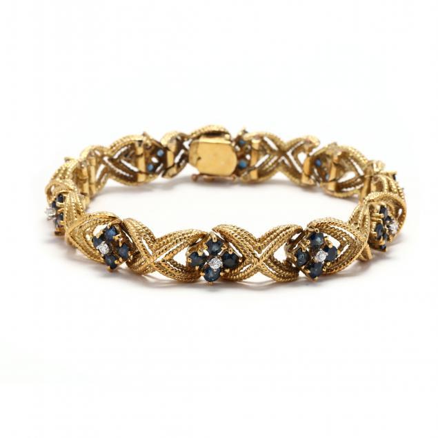 18kt-gold-and-gem-set-bracelet-la-triomphe