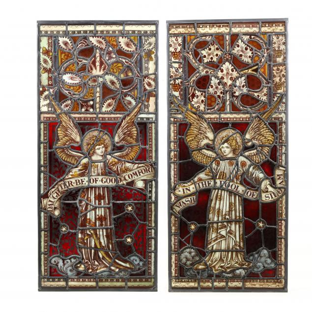 a-pair-of-ecclesiastical-stained-glass-windows