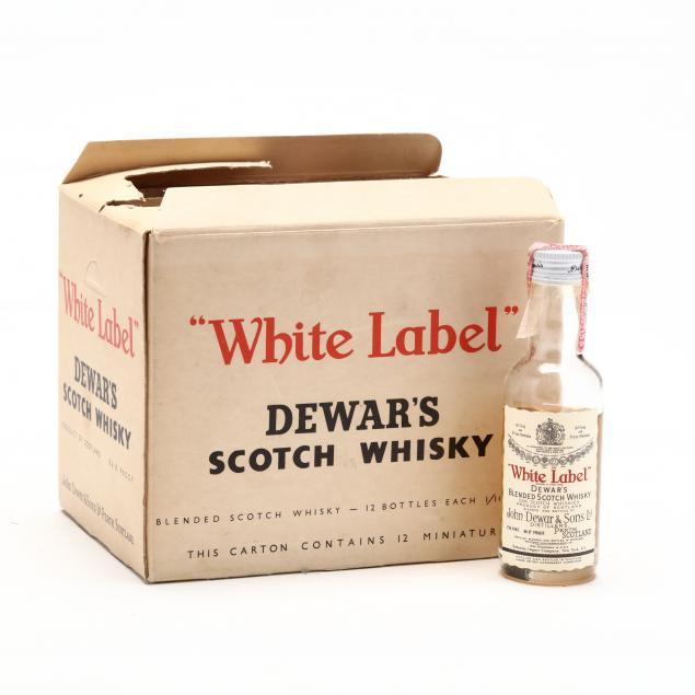 dewar-s-white-label-scotch-whisky-miniatures