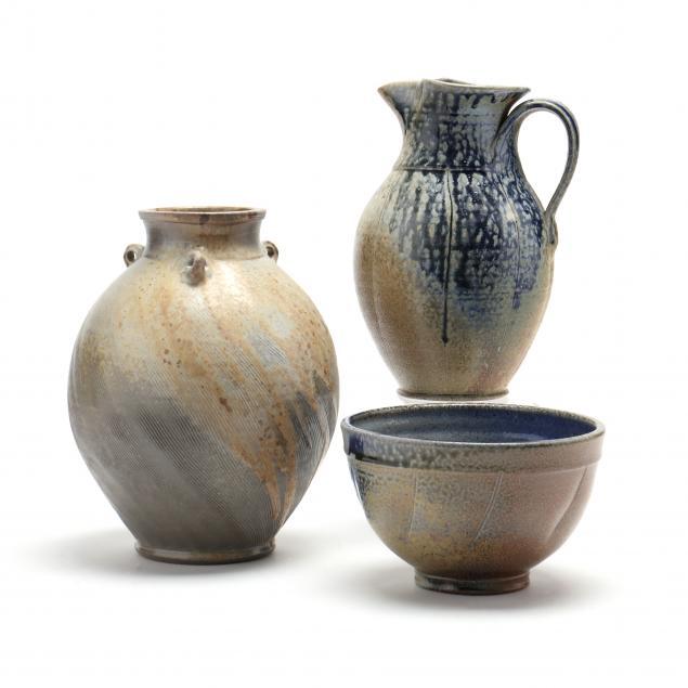 ben-owen-iii-nc-three-pieces-of-salt-glazed-pottery