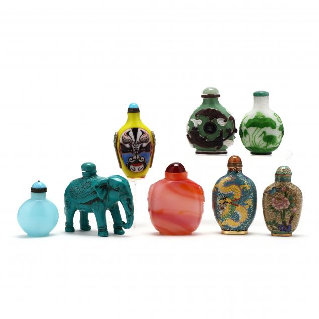 eight-assorted-chinese-snuff-bottles