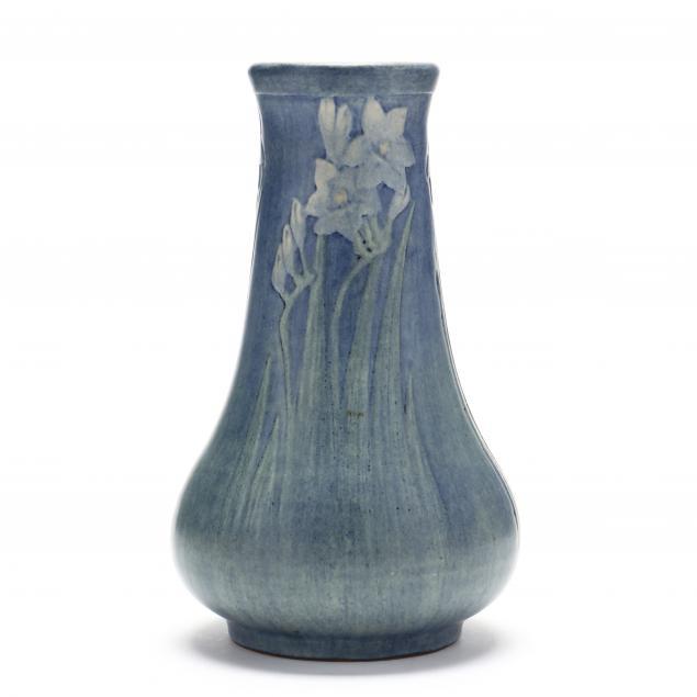 newcomb-college-daffodil-vase-alma-mason-1915