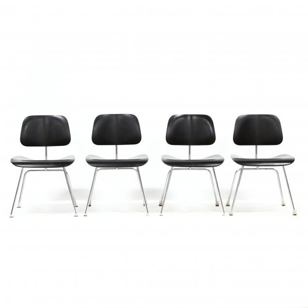 attributed-charles-and-ray-eames-set-of-four-dcm-chairs