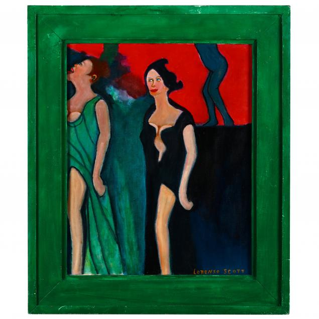 lorenzo-scott-ga-born-1934-two-women