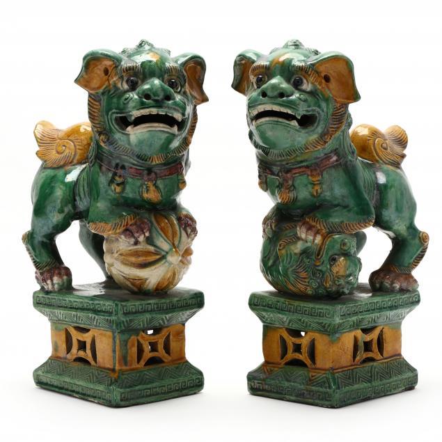 a-pair-of-guardian-foo-lions-with-sancai-glaze