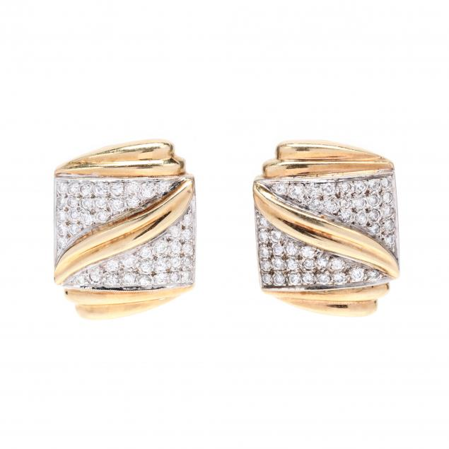 gold-and-diamond-earrings