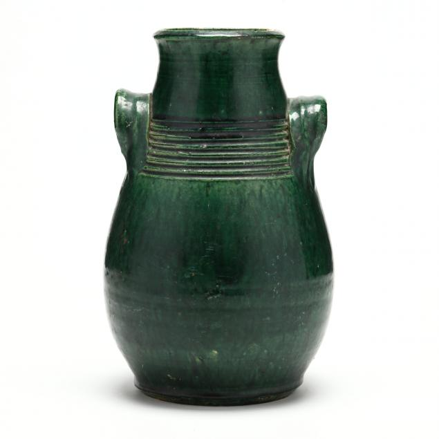 ring-turned-vase-attributed-duck-teague-1898-moore-county-nc
