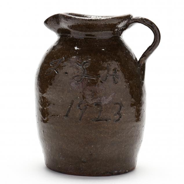 one-quart-pitcher-john-h-hartsoe-lincoln-county-nc