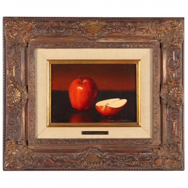 michael-san-fratello-american-20th-century-still-life-with-apples