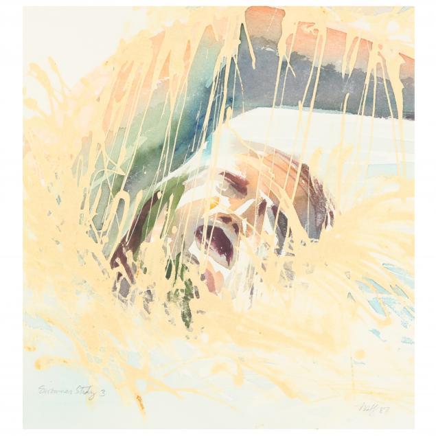 maud-gatewood-nc-1934-2004-i-swimmer-study-3-i