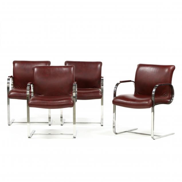 ludwig-mies-van-der-rohe-german-1886-1969-set-of-four-i-brno-i-chairs