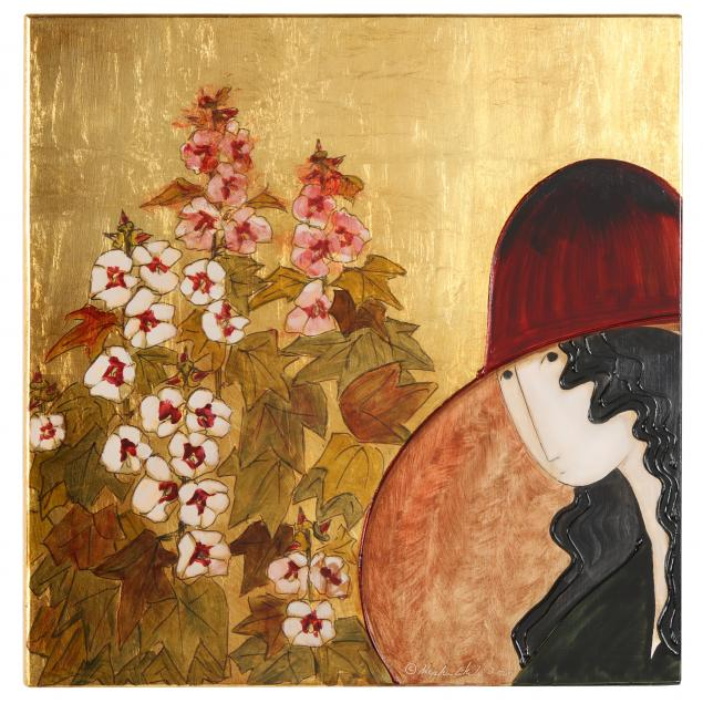 stephen-white-nc-young-woman-with-flowers