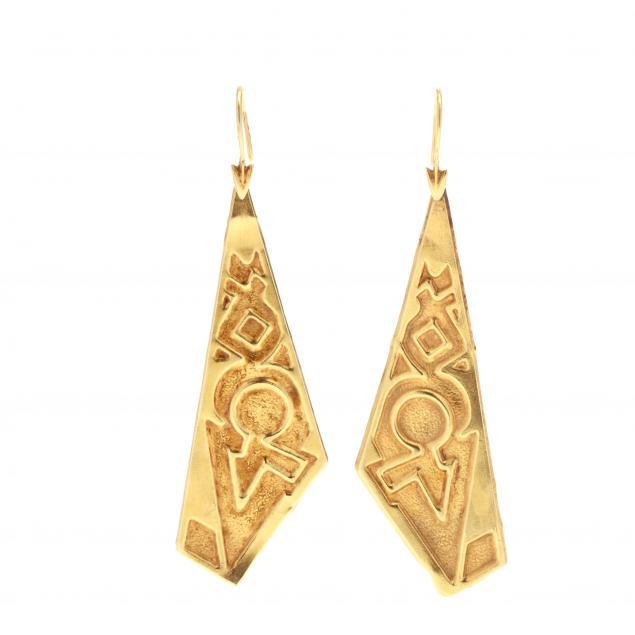 gold-geometric-dangle-earrings-lalaounis