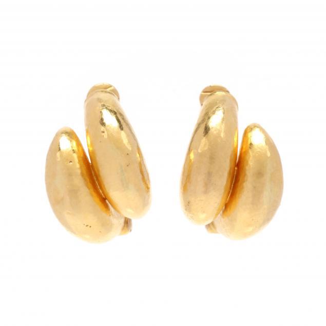 18kt-gold-hoop-ear-clips-lalaounis