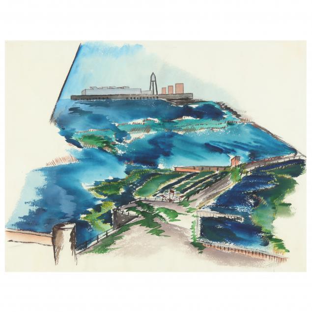 gregory-ivy-nc-1904-1989-i-port-terminal-morehead-city-i