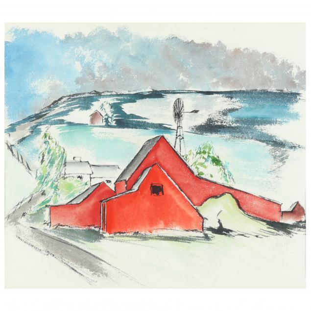 gregory-ivy-nc-1904-1985-i-arthur-newberry-s-barns-i