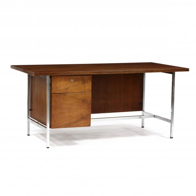 florence-knoll-american-1917-2019-walnut-writing-desk