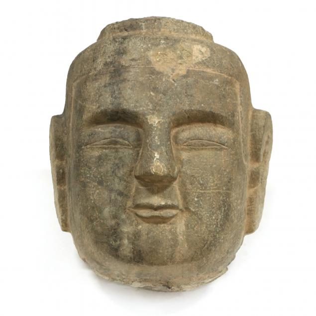 a-monumental-carved-chinese-buddha-head