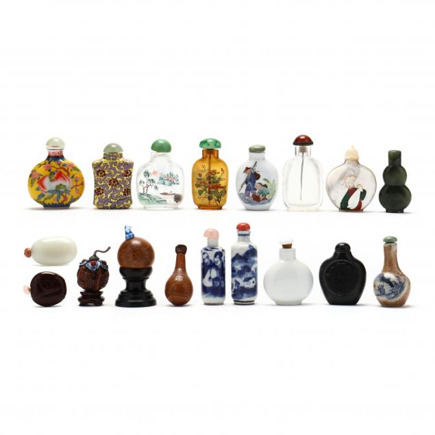 a-collection-of-eighteen-chinese-snuff-bottles