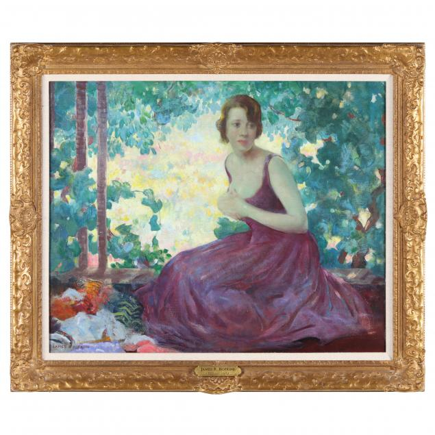 james-roy-hopkins-american-1877-1969-woman-seated-in-violet-dress