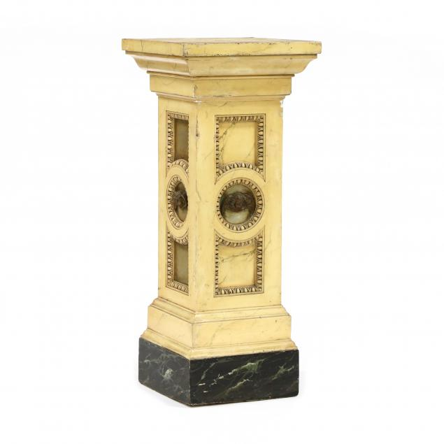 continental-paint-decorated-pedestal